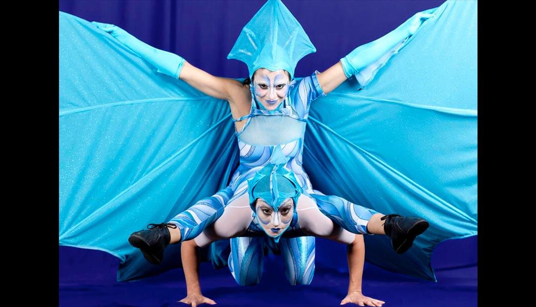 Atlantes, espectáculo para eventos y fiestas